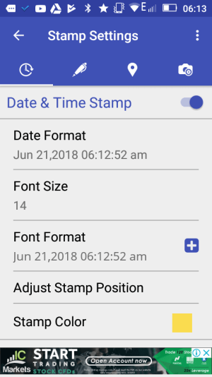How To Add Date/Time Stamps to Photos on Android