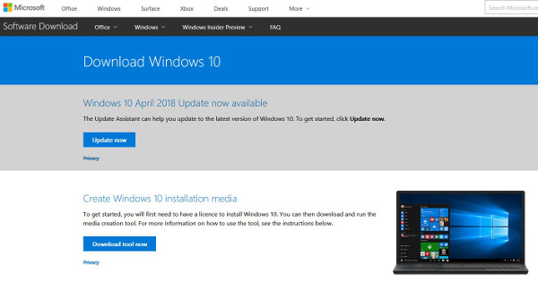 How to fix 0x80042405 errors when using Windows 10 Media Creation Tool