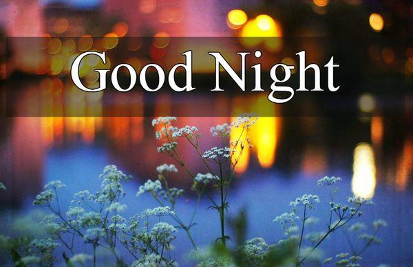 Полезные изображения спокойной ночи с красивыми цветами 4
