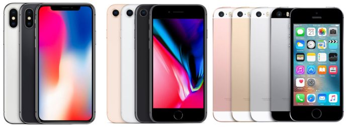 iphone models ios 12