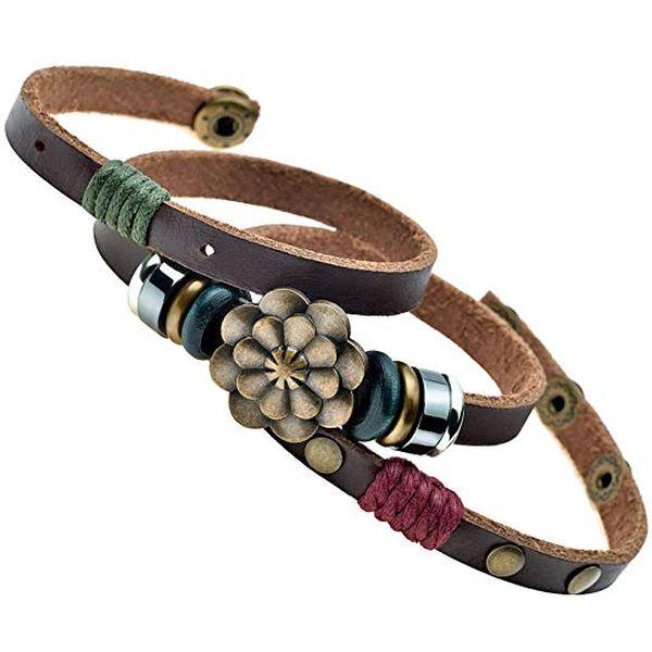 Handmade Lotus Flower MultiLayer Bracelet