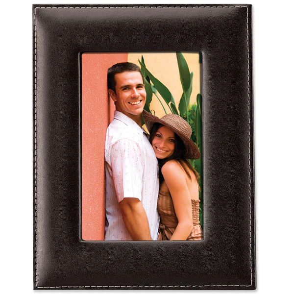 Leather 5 by 7 Picture Frame