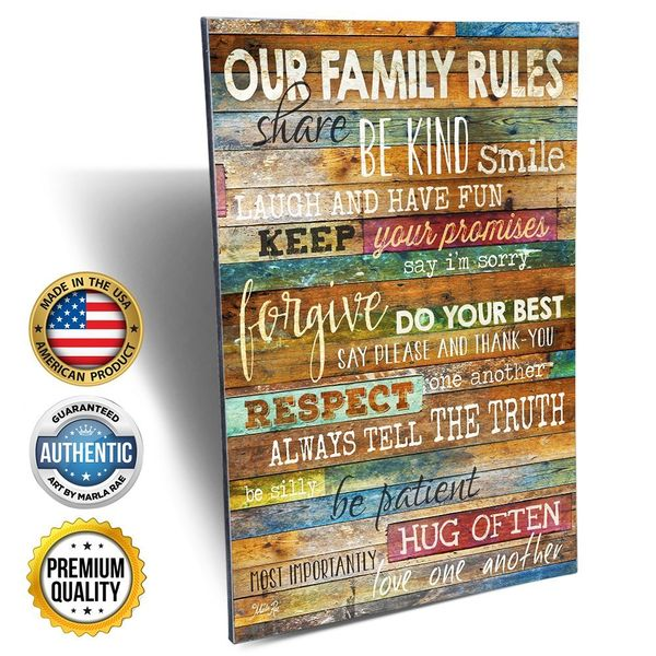 Marla Rae Wood Wall Art Sign
