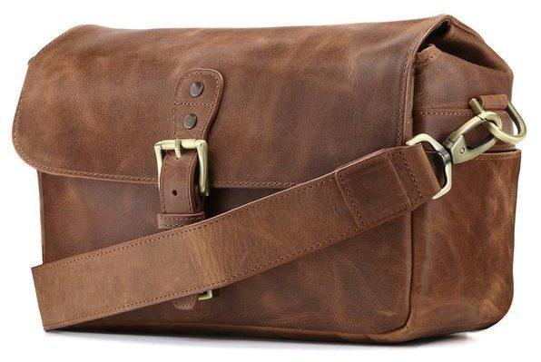 MegagGar Genuine Leather Camera Bag