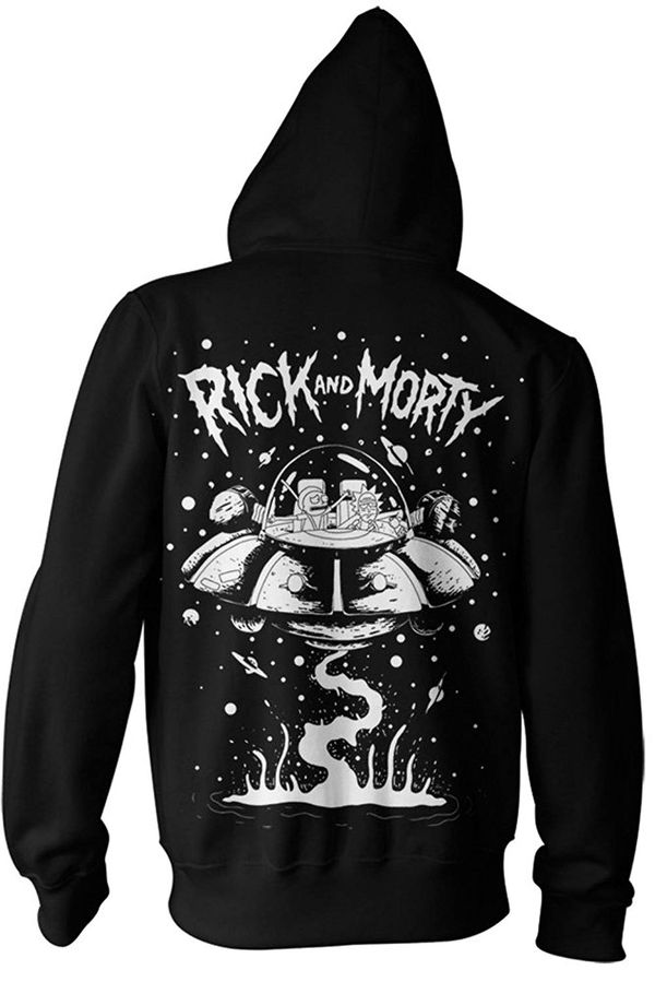 Rick and Morty Supreme sweatshirt merch 2