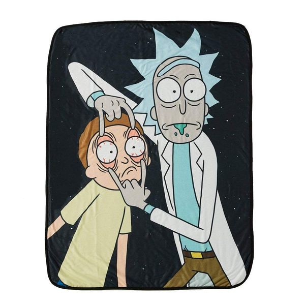 Rick and Morty blanket gift 6