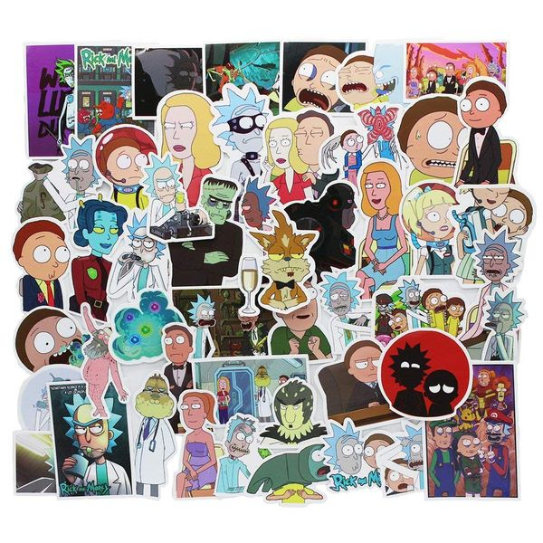 Rick and Morty decals and stickers 1