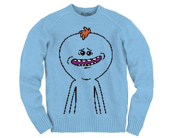 Rick and Morty sweater christmas gift 6