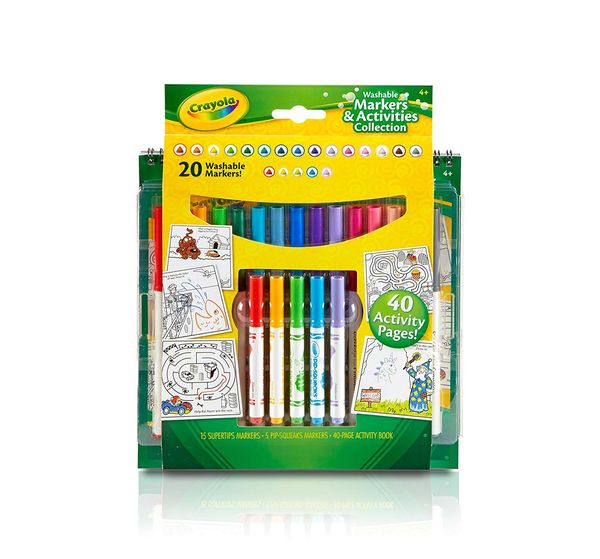 Washable markers great presents for 2 year old boy