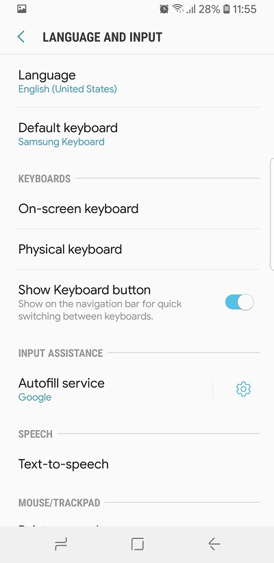 How To Turn Off Autocorrect on the Samsung Galaxy Note 8