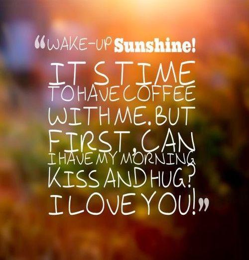 Wake-up Sunshine