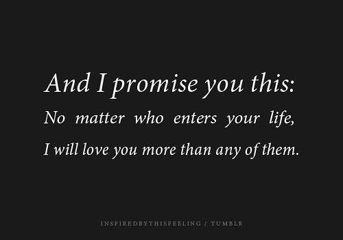 Deep I Love You More Than Life Itself Quotes