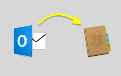 export contacts outlook mac