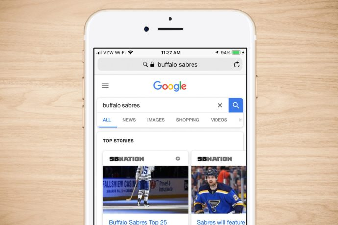 search engine iphone google