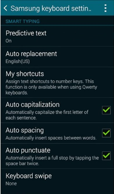 How To Turn Off Autocorrect on the Samsung Galaxy J5/J5 Prime