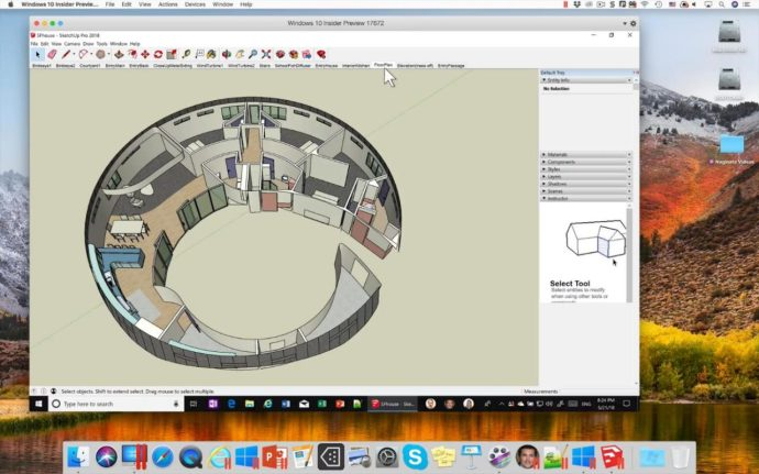 sketchup parallels 14