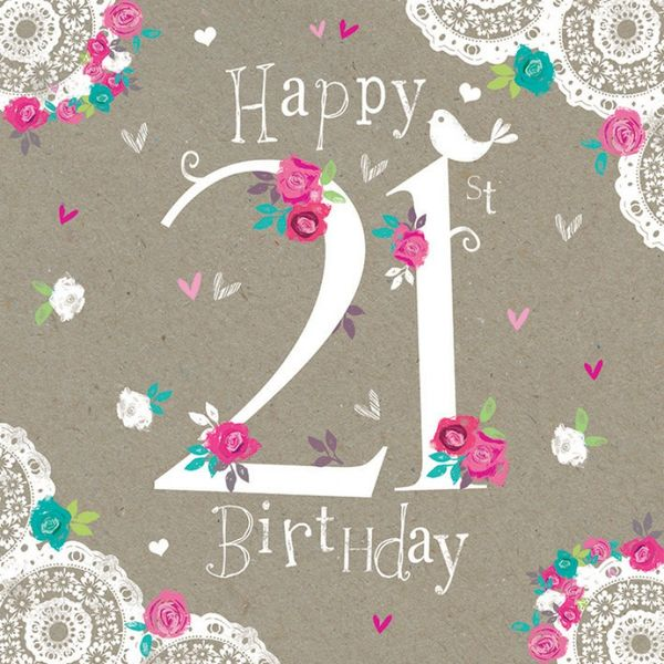 Beautiful 21st Birthday Wallpaper