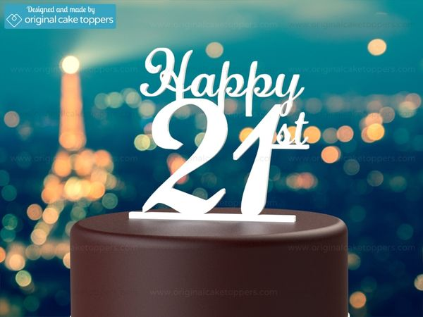 Creative 21st Birthday Wallpaper