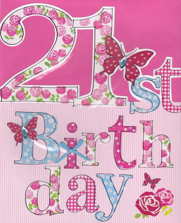Terrific Images of 21st Birthday Cards