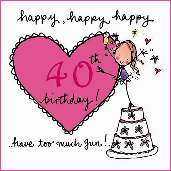 Funny photos of 40th birthday for women