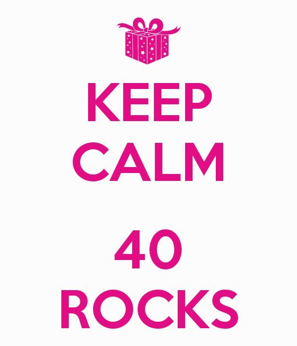 Awesome 40th Birthday Meme Keep Calm