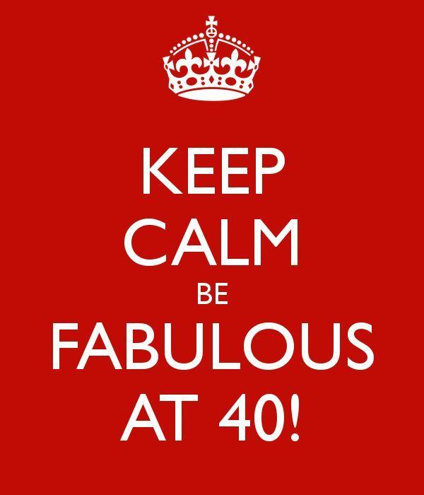 Wonderful 40th Birthday Meme Keep Calm
