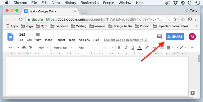 share google doc