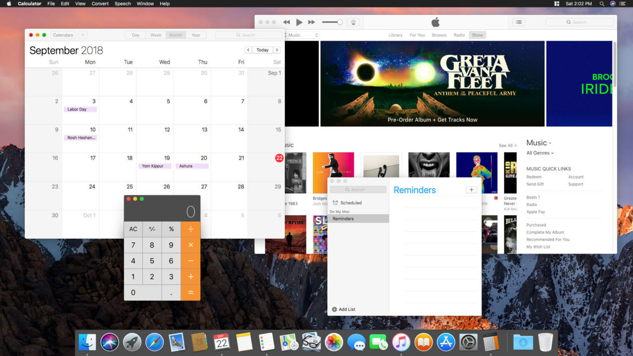 How to Use Only a Dark Menu Bar and Dock in macOS Mojave