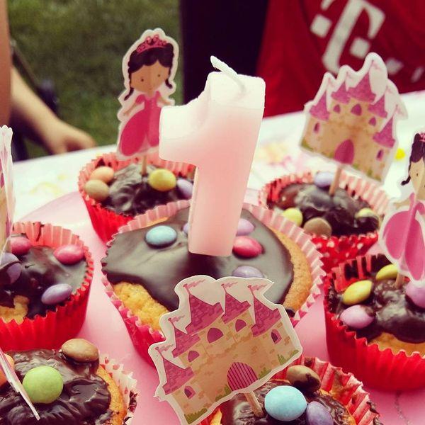capcake on 1st birthday