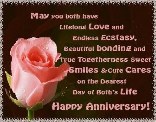 Cool Happy Anniversary Pictures with Wishes 4