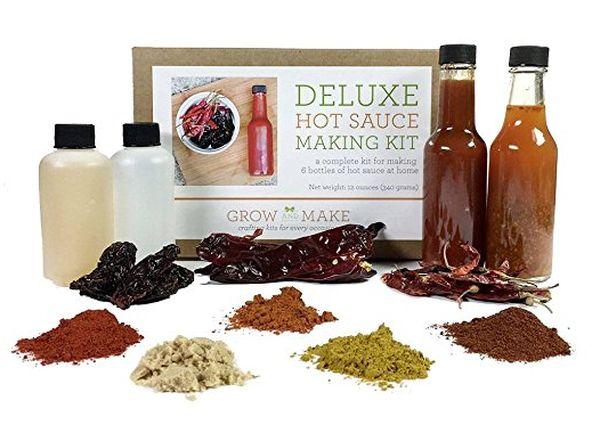 Grow and Make Deluxe DIY Gourmet Hot Sauce Kit