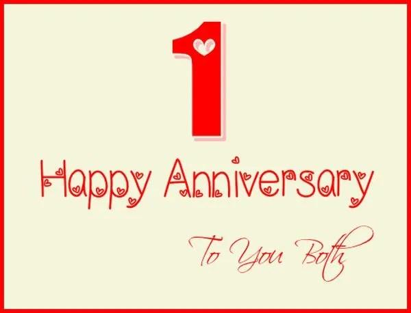 Nice Happy Anniversary to You Both Pics 1