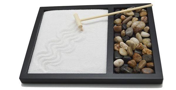 Tatum Shea Zen Sand Rocks Rake Garden Kit