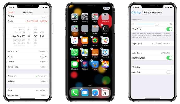 iphone haptic feedback tasks