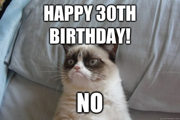 Creative Happy 30th Birthday Meme