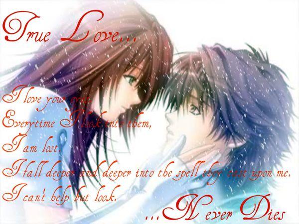 Deep Anime Love Quotes 1