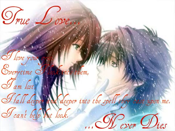 Deep Anime Quotes about Love for Him 1