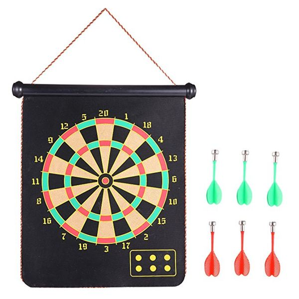 Roll-up Magnetic Dart Board Set