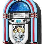 Victrola Retro Desktop Jukebox with CD Player