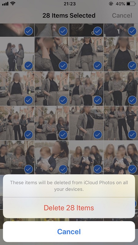 How To Delete All Photos from iCloud