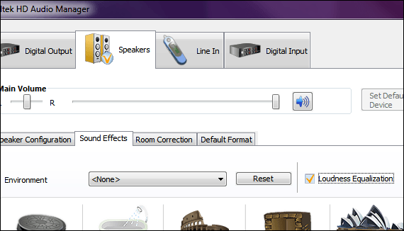 How To Use Realtek HD's Loudness Equalization For Easy