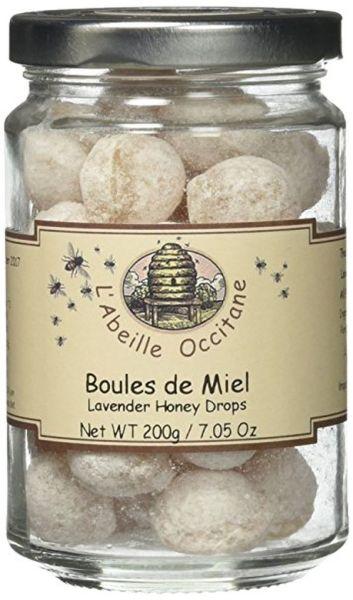 """l'Abeille Occitane """"Boules Fourrees Miel"""" Lavender Honey Drops"""