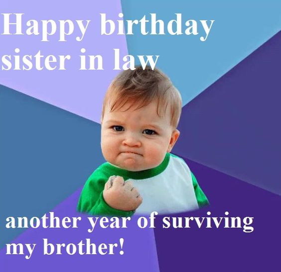 Happy Birthday Sister in Law Quotes to Text Message