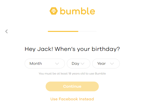 Change bumble profile to meet opposite sex