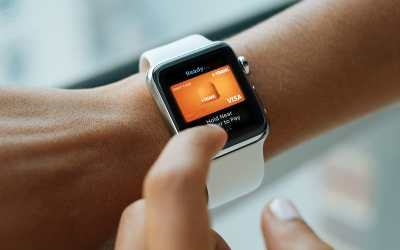 change default card apple pay watch