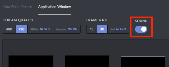 Sound Sharing in discord While Screen Sharing