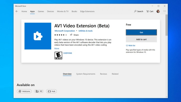 install av1 windows 10