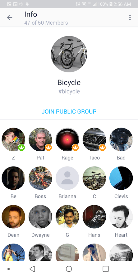 How to find a group on kik