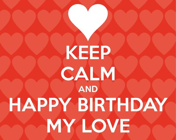 Happy birthday my love images 4