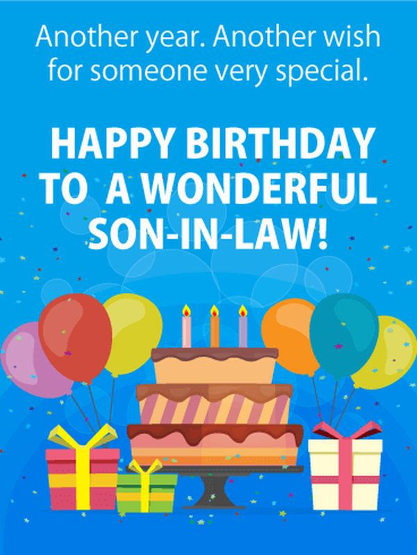 Happy birthday soninlaw images and memes 4
